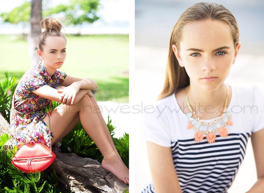 Chic And Breezy Summer Style New Editorial With Teen